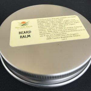 Essential Oil Beard Balm